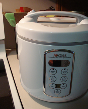 Sue Clancy's beloved Rice Cooker-Slow Cooker