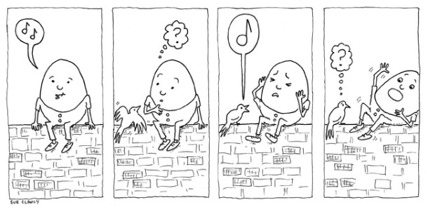 Why Humpty Dumpty Fell