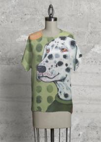 Pattern design using artwork by Sue Clancy for VIDA http://shopvida.com/collections/sue-clancy
